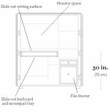 Armoire Office Desk Armoire Desk