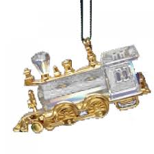 swarovski locomotive ornament 219871 decor swarovski