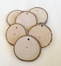 wood slices medium tags 10 2 to 2 5 in diameter