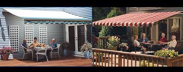 Outdoor Retractable Awnings Sunsetter Awnings Motorized Retractable Urbana Il