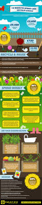 15 ways to spend less on your garden infographic espares