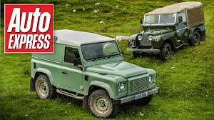 2000 land rover green land rover defender heritage review u0026 its ancestors driven youtube