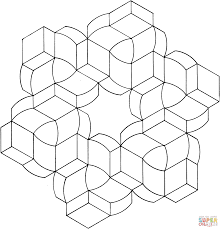optical illusion 20 coloring page free printable coloring pages