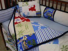 Hibiscus Crib Bedding Surfboards On Blue Hibiscus Surfer Bedding Hawaiian Throw Blanket