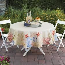 Fitted Picnic Tablecloth Better Homes And Gardens Sealife Tablecloth 70