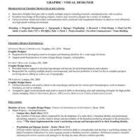 outstanding graphic designer resume example with key strength