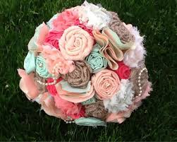 fabric bouquet fabric flower bouquet fabric bridal bouquet