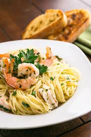 Ina Garten Dinner Party by Angel Hair With Lemon Shrimp Scampi Recipe Natasha U0027s Kitchen