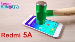 Redmi 5a Redmi 5a Screen Scratch Test