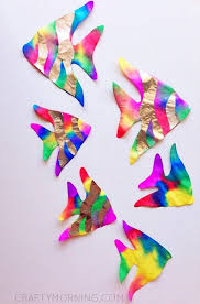themed arts and crafts best 25 crafts ideas on fish crafts kids