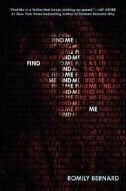 find me find me 1 by romily bernard