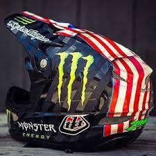 custom painted helmets u0026 jersey lettering troy lee designs