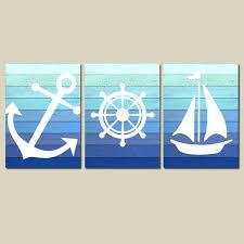 wooden sailboat wall decor nautical wall nautical bathroom