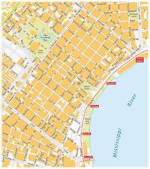 orleans map quarter map orleans stock illustration image 64500173