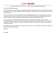cover letter for a cook position best shift manager cover letter examples livecareer