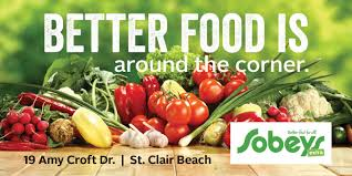 grocery store hours thanksgiving day sobeys st clair beach sobeys inc