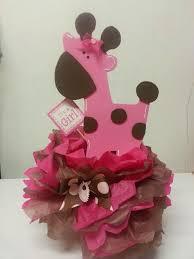 giraffe baby shower decorations pink safari baby shower ideas pink giraffe centerpiece baby