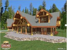 Floor Plans For 5000 Sq Ft Homes Cascade Handcrafted Log Homes Canada Us Europe Asia