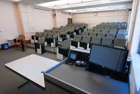 Lecture Hall Desk Rice University Edtech