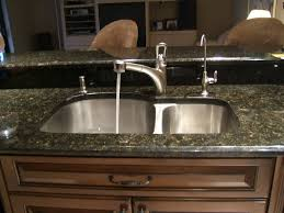 Kitchen Sink Faucet Hole Size by Kitchen Sinks Kohler Kitchen Sink Faucet K 10433 Vessel Faucet