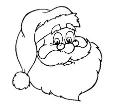 santa christmas coloring pages santa claus coloring pages