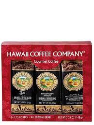 10 kona blend coffee single pot gift pack hawaii coffee company