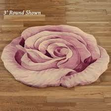 rosemarie teal blue flower shaped rugs from a touch of class 159