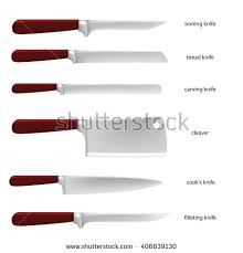 kitchen knives names kitchen knife set with their names
