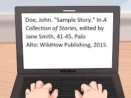 how to write a short paper in apa format 3 ways to cite a short story wikihow