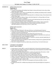 Obiee Business Analyst Entry Level Business Analyst Resume To Get Operations Analyst Resume Samples Velvet Jobs