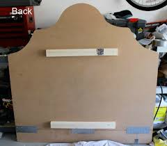 Wall Mount Headboard How To Make A Simple Upholstered Headboard Driven By Decor