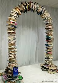 Wedding Arches How To Make Book Arch Instructions Literary Wedding Pinterest Book Arch