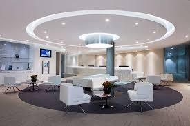 Arnold Reception Desks by Tullow Oil Chiswick Park Office Peldon Rose