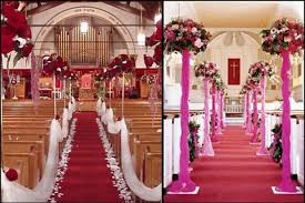 Church Decorations For Wedding Wedding Decoration Ideas For Church Home Decorating Ideas