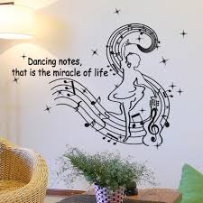 online get cheap music note stickers aliexpress com alibaba group wall sticker dancing musical notes stickers decorative creative co friendlmay30 china