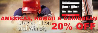 Hilton Garden Inn Friends And Family Rate Hilton Hhonors Mvp 20 Off Rate For Americas Hawaii U0026 Caribbean