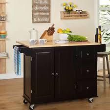 Buffet Kitchen Island Aspen 3 Drawer Cabinet Spice Rack Drop Rolling Kitchen Island