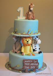 impressive ideas baby first birthday cake projects best 25 circus