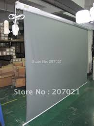 home theater screen fabric aliexpress com buy portable 120inch16 9 rolling rear projection