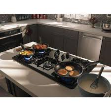 Gas Countertop Range Kitchen Cooktops 36 In Gas Cooktops Cooktops The Home Depot