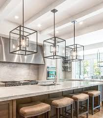 oversized kitchen islands island kitchen lights cube cage lighting complete with edison