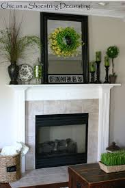 Home Decor On Summer Mantel Decorating Making A House A Home Pinterest Mantels