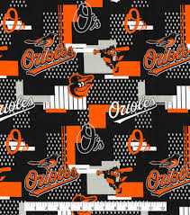 baltimore orioles cotton fabric 58 u0027 u0027 patch joann