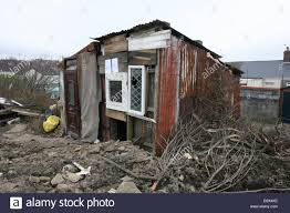 Shed Style A Shanty Town Style Dwelling In Llanelli Wales The Shed Is