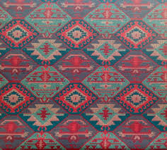 ethnic tribal style upholstery fabric double faced cloth aztec