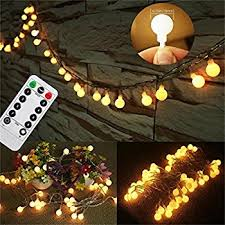 Decorating With String Lights Amazon Com Updated Version 33 Feet 80leds Bedroom Globe String