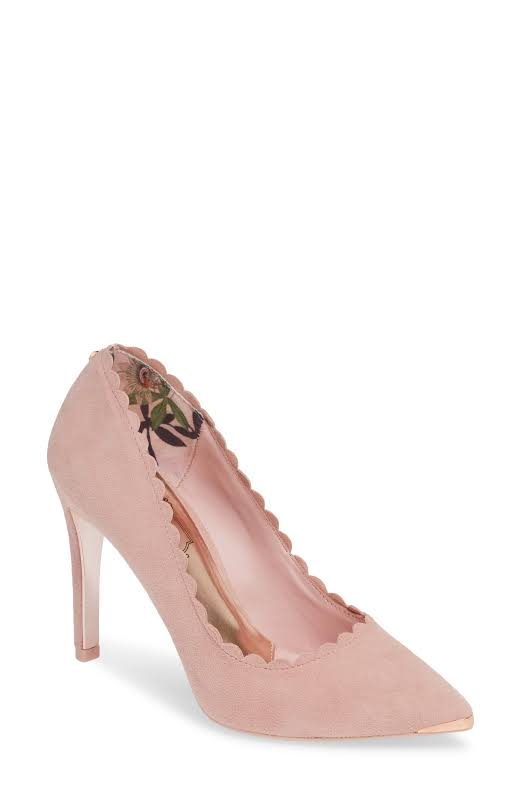 Ted Baker London Sloana Pointy Toe Pumps Pink 10 M