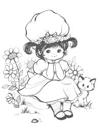 vintage coloring book pages free download