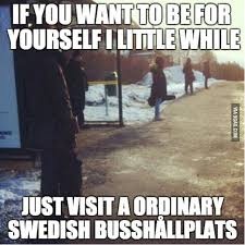 Swedish Meme - weighing in on the swedish personal space bubble study in sweden