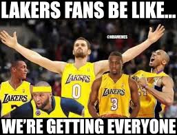 Funny Lakers Memes - nba memes on twitter lakers fans be like http t co 1poyceizdd